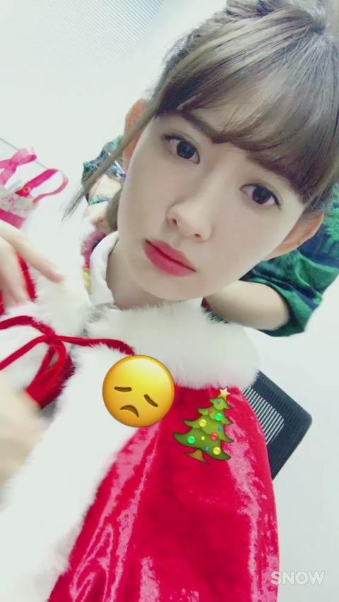 【AKB48】小嶋陽菜「(AKBでの)クリスマスの撮影も最後だと思って頑張ります」