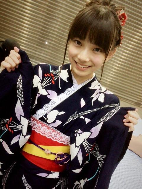 【画像】もえきゅんの浴衣姿が可愛いwww【AKB48・後藤萌咲】