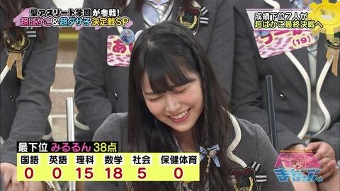 【NMB48】ガチな学力最上位、最下位って誰?