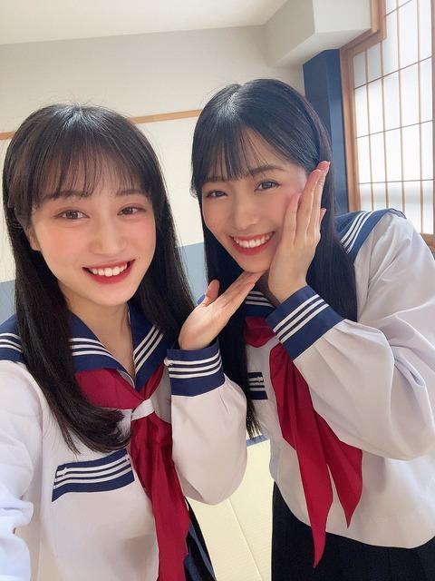 【NMB48】川上千尋、安田桃寧出演「かわりコント学園」Tverで配信中!