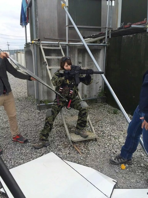 【AKB48】永尾まりや、アームズマガジン主催「サバゲ祭り」に参加決定!