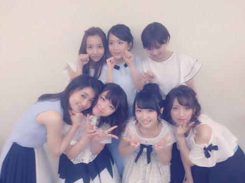 【朗報】みーおん、凄い所に割り込むwwwwww【AKB48・向井地美音】