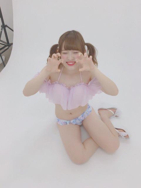 【NMB48】武井紗良の水着姿が無駄にエロいwww【武井紗良】