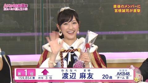 【AKB48】まゆゆの次に総選挙1位になれそうな本店メンバーっている?【渡辺麻友】