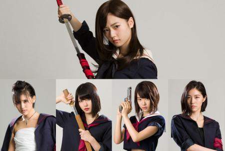 【AKB48】「マジすか学園5」詳細キタ――(゚∀゚)―― !!地上波は2話まで、3話以降はHuluのみ。主演は島崎遥香