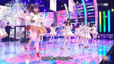 【GIF画像あり】ぱるるのパンツキタ━━(゚∀゚)━━!!【AKB48・島崎遥香】