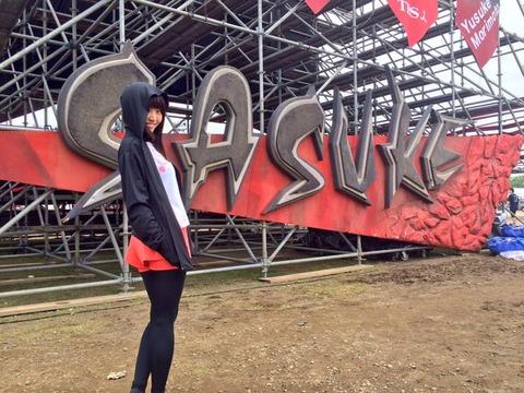 【SKE48】二村春香が7月放送予定の「SASUKE2016」に出場する模様