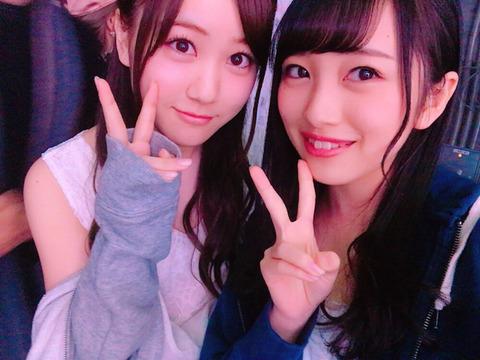 【AKB48】みーおんとほしみな(乃木坂46星野みなみ)【向井地美音】