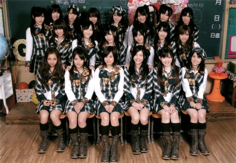 【AKB48G】2009年のおまいらに教えたら驚きそうな事