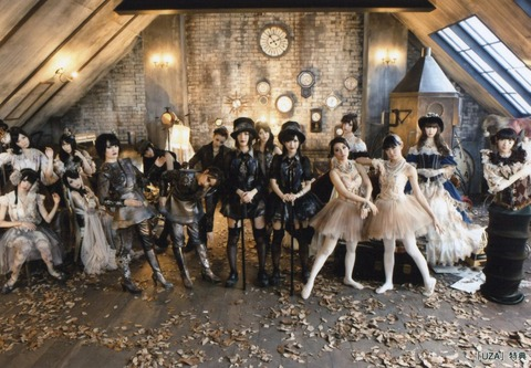 【AKB48】前田敦子卒業後最初のシングル「UZA」の選抜メンバー強すぎ!!!