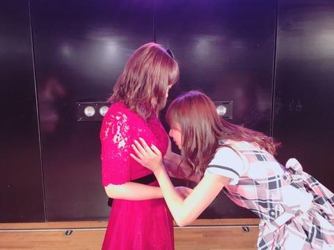 【AKB48】卒業した梅田綾乃さん、がっつりおっぱいを揉まれるwww