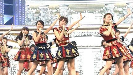 NHK石原「紅白歌合戦でAKB48のサプライズを事前に知ってたのは渡辺麻、指原、横山、向井地の4人だけ」