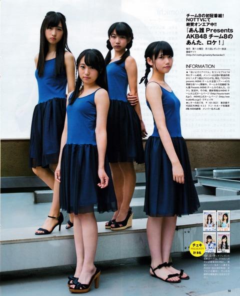 【AKB48】チーム8のおっぱいがたまらん・・・
