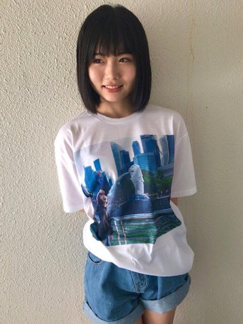 【悲報】HKT48秋吉優花、公式グッズTを握手会で着たら「それ自分で作ったの?」とファンに聞かれる
