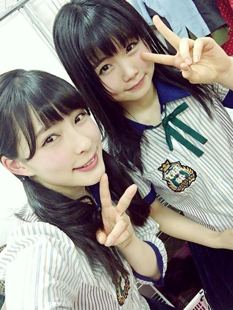 【HKT48】秋吉優花と山本茉央って一時推されてたけど急に見なくなったよね