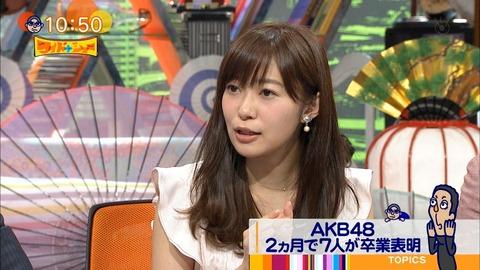 【ワイドナショー】ダウンタウン松本人志「指原はAKBの顔だから卒業させてもらえない」