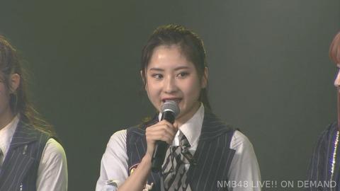 【悲報】NMB48林萌々香が劇場公演にて卒業発表