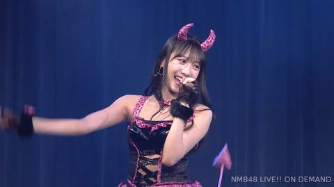 【NMB48】横野すみれの冠ライブがエロすぎるwww