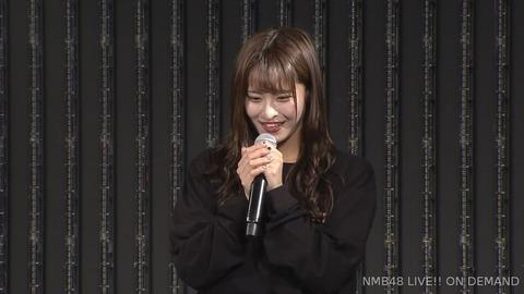 【NMB48】清水里香、劇場公演で卒業発表、原因は体調不良?