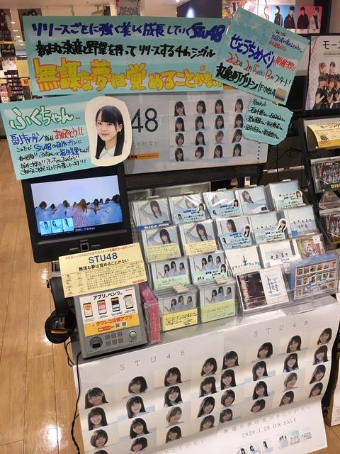 【朗報】STU48福田朱里、めりけんやのアンバサダーに昇格&新番組開始のお知らせ