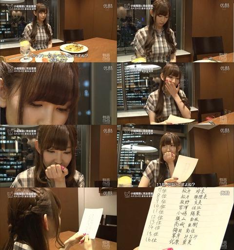 【AKB48】今年も小嶋さんの伝統芸能を待ちわびている奴www