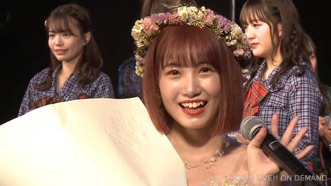 【HKT48】朝長美桜さん、ひっそりと卒業