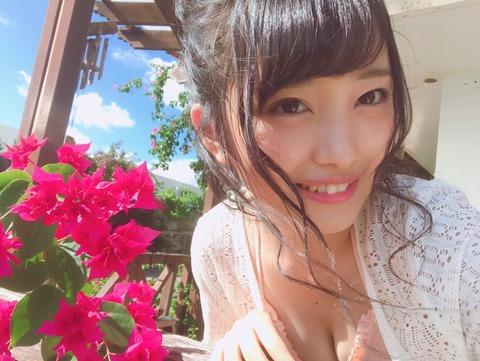 【AKB48】みーおんが沖縄コンサートで水着着用を匂わすモバメ送ってきた!【向井地美音】