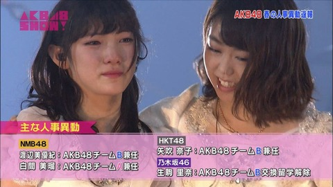 【AKB48】大運動会、ドラフトまであと2週間だけど新チームどうなった?