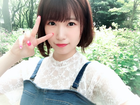 【HKT48】朝長美桜がしれっと髪を染めてるんだが・・・