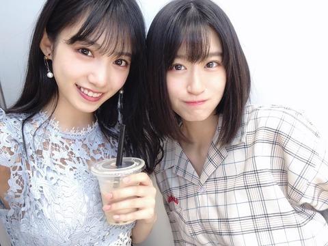 【NMB48】上西怜と横野すみれ、久保伶音と小栗有以、甘えるならならどっち?【AKB48】