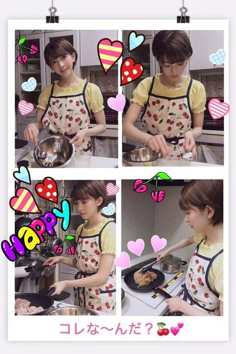 【朗報】菅原りこちゃん、照り焼きチキンを作る【りったん】