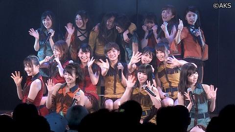 【AKB48】チーム4は公演で無理に生歌やらなくてもいいんじゃないか?
