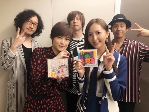 【HKT48】森保まどかちゃんがMステで共演したYUIさんとの2ショット撮影に成功