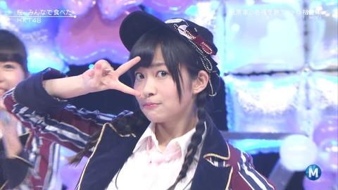 【HKT48】「桜、みんなで食べた」のセンターって指原莉乃なの?