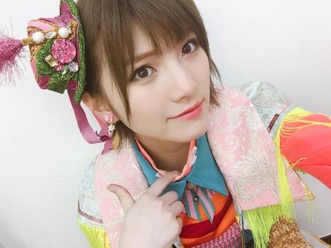 【AKB48】岡田奈々「人生一度きりだし20代のうちに髪色を赤とか青とか白にしたい」
