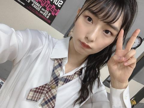 【NMB48】大田莉央奈「地上波のテレビ番組に出演させていただけて、親戚から連絡きてありがたい」
