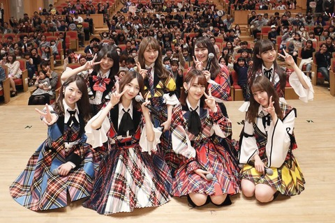 【SKEイズム】小畑優奈さん、「桜の花びらたち」で全力ダンスを披露