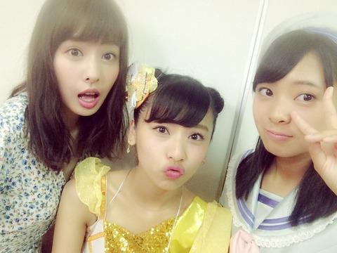 【画像】NMB48の山田姉妹が一緒に写ってるやんけ!【山田菜々・山田寿々】