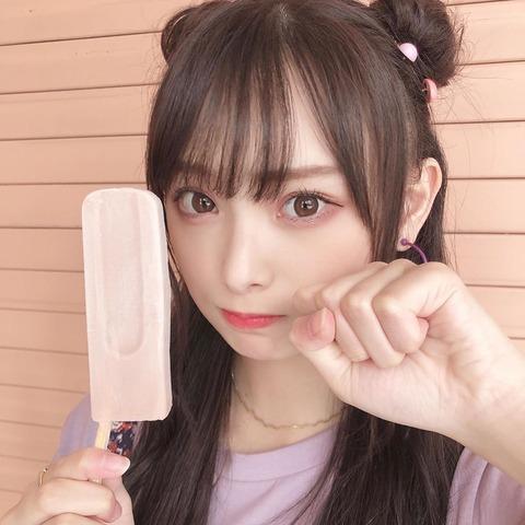 """【NMB48】梅山恋和が新ヘアスタイル""""クマさんヘア""""を公開「世界1可愛いクマちゃん発見」とファン悶絶"""