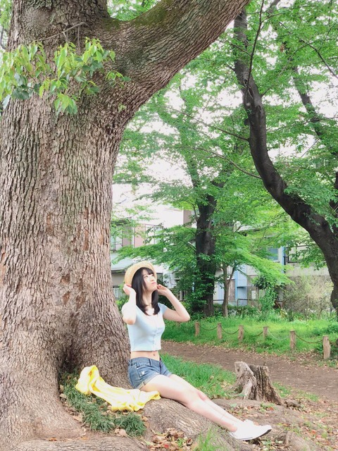 【NMB48】上西怜ちゃんの服の上からでも分かる主張の激しいお●ぱい(;´Д`)ハァハァ