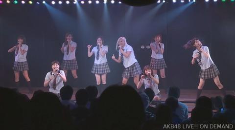 【AKB48】3期生公演の「ワッショイB」で米沢瑠美だけ消されるwww