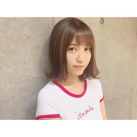 【AKB48】れなっちが髪を切る!さらに髪色を明るくしてメッシュも!【加藤玲奈】