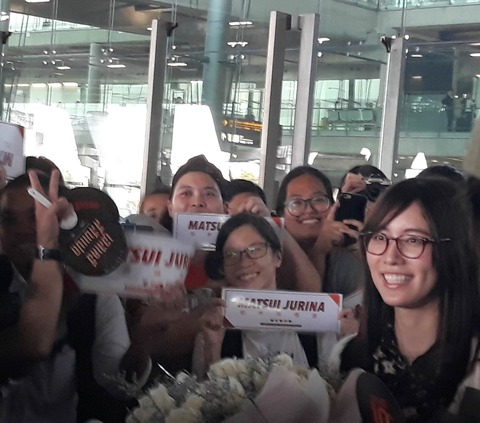 【SKE48】松井珠理奈さんがタイに到着!最新のおじゅりがこちら