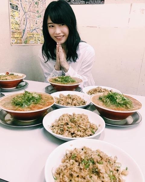 【AKB48】総監督横山由依、またまた飯屋で豪遊www