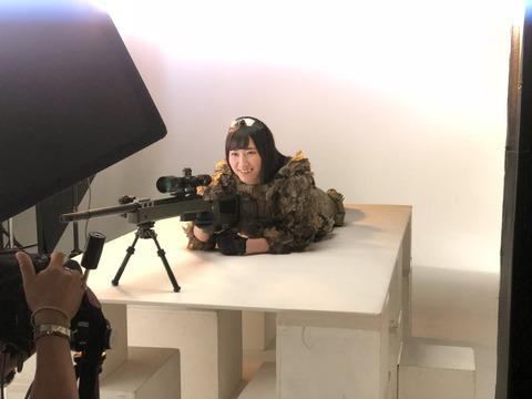 【NMB48】不人気の西澤瑠莉奈がガンプラSR配信を経て、選抜メンバーしかしていないアームズマガジンの表紙をゲット!