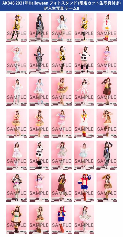 【AKB48】チーム8のハロウィン生写真の衣装がなんかエロい