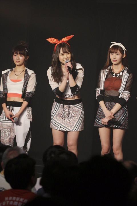 【SKE48】竹内舞、5月末で卒業することを劇場公演で発表