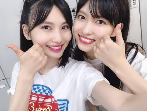 【AKB48】谷口めぐと福岡聖菜ならどっちがお〇ぱい大きいの?