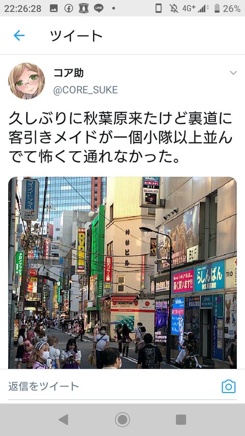 【悲報】AKB48の聖地、秋葉原がとんでもないことになってる…