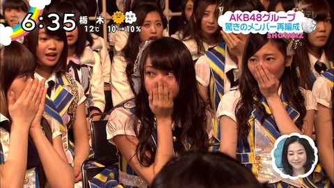 【AKB48G】3年経ったし大組閣について語ろうぜ